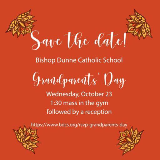 Grandparents' Day - Oct. 23