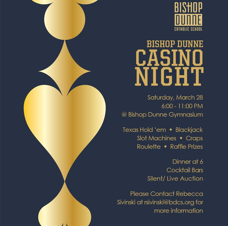 Casino Night is March 28!