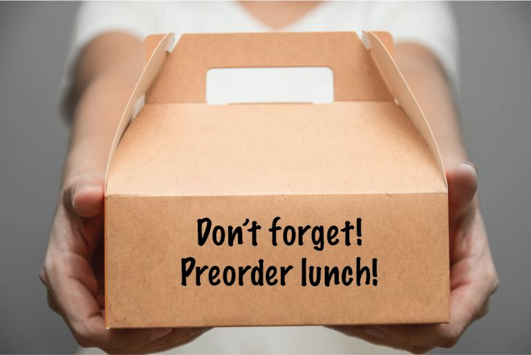 Preorder lunch!