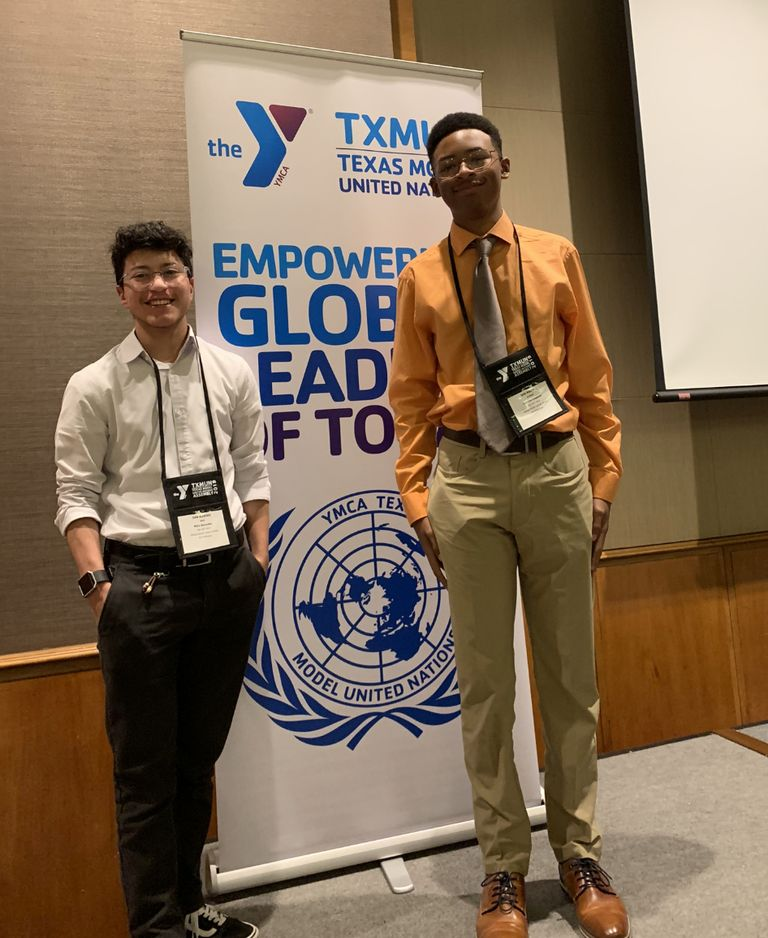 Students Participate in Texas Model United Nations